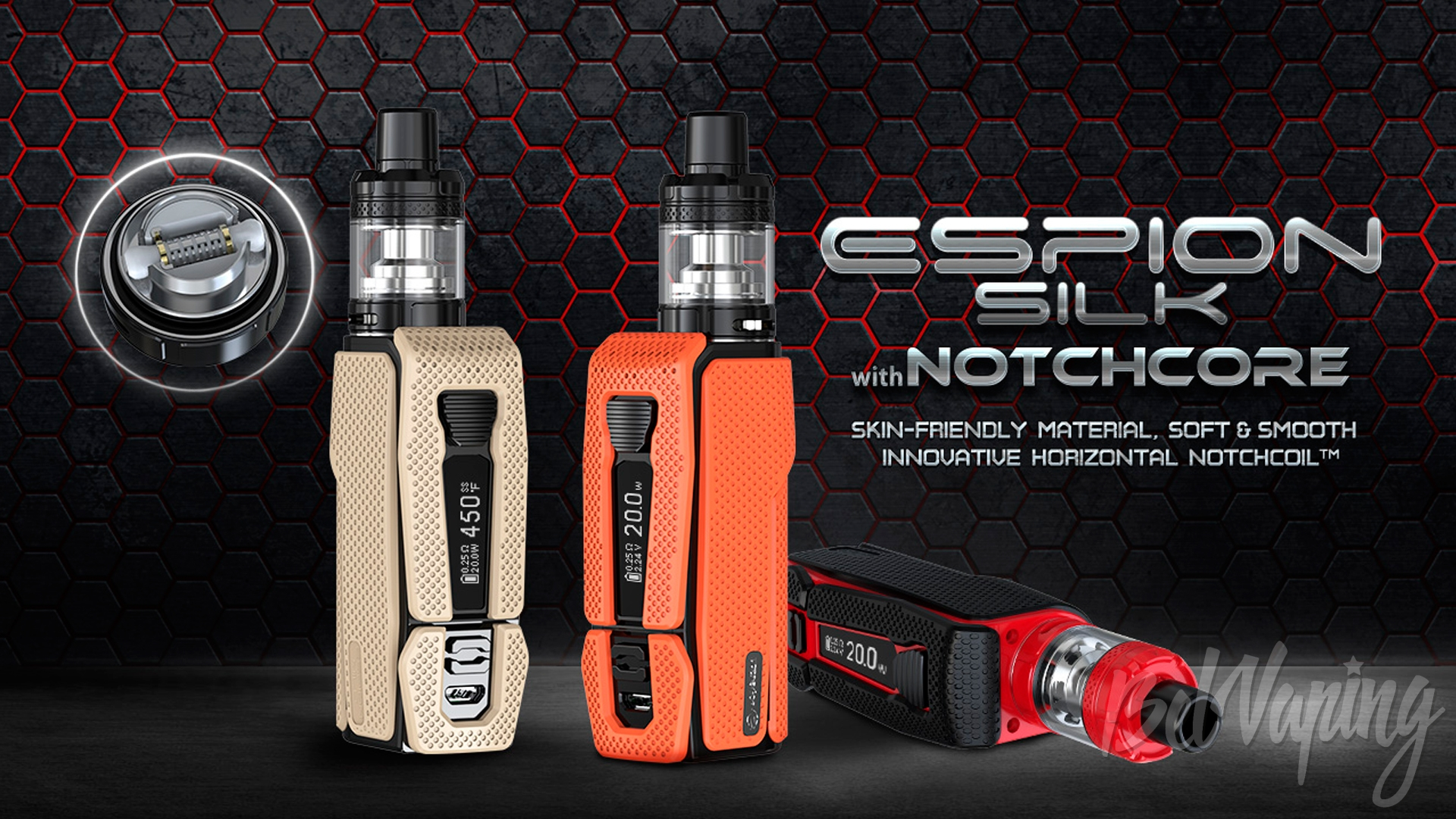 Joyetech ESPION Silk with NotchCore. Первый взгляд