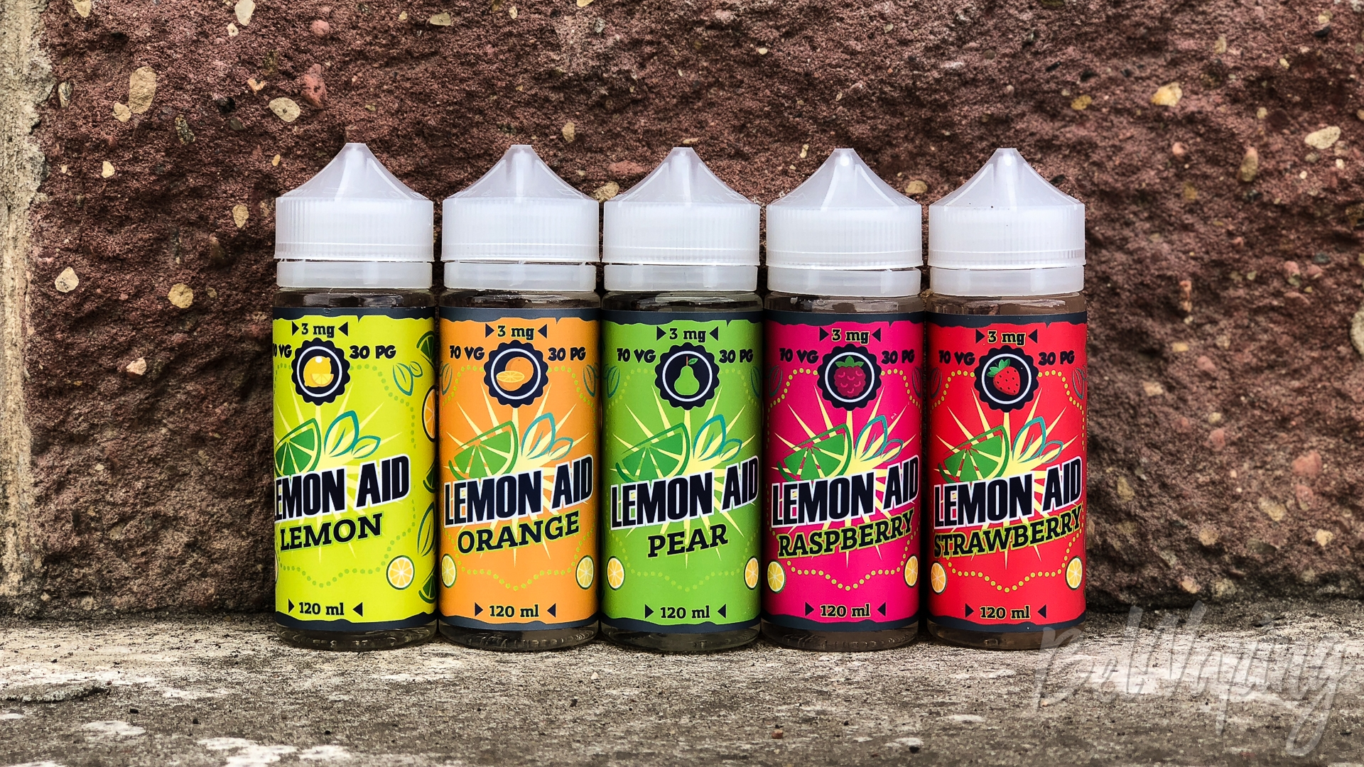 Обзор жидкости Lemon Aid