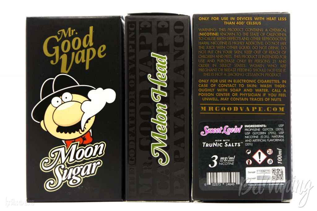 Упаковка жидкости Mr. Good Vape