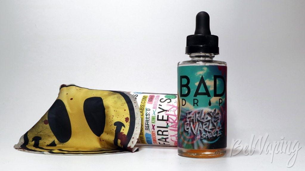 Набор от VAPE STREET - жидкость Bad Drip Farley Gnarly Sauce