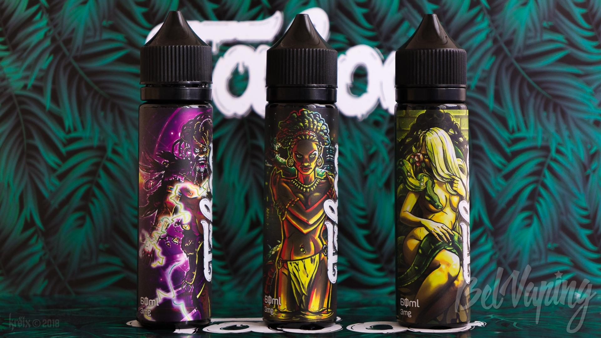 Обзор новых вкусов жидкости Taboo