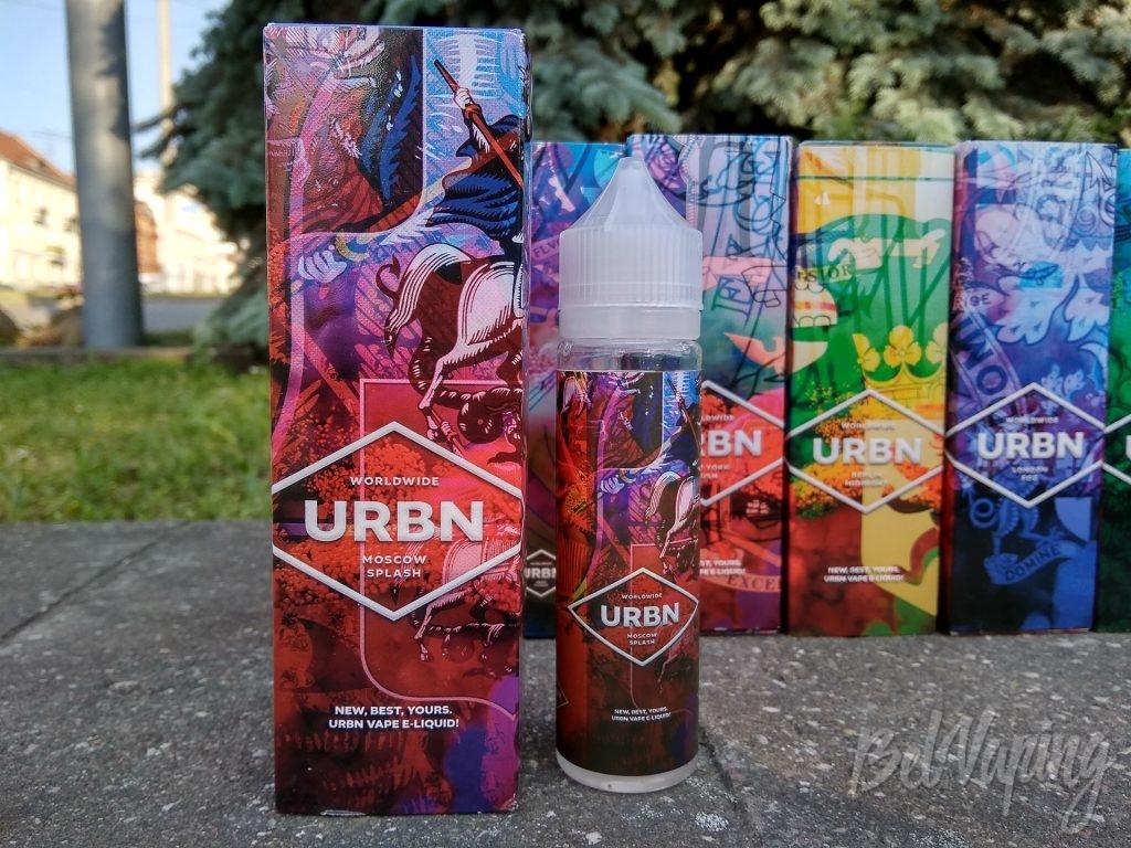 Жидкость URBN WORLDWIDE 2.0 - MOSCOW SPLASH