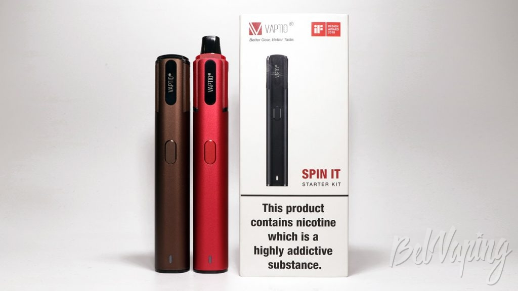 Обзор Vaptio SPIN IT starter kit