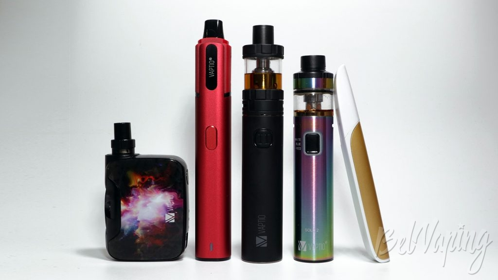 Vaptio SPIN IT starter kit