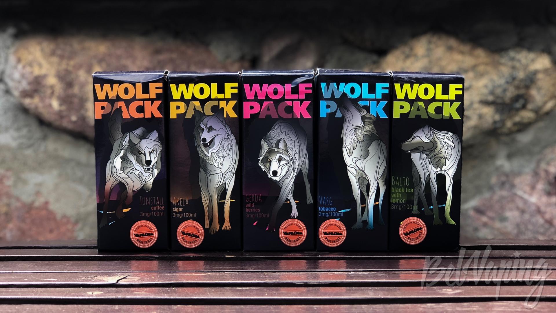 Обзор жидкости Wolf Pack