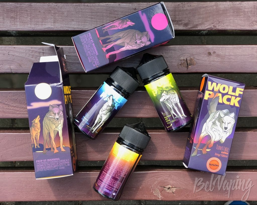Жидкости Wolf Pack