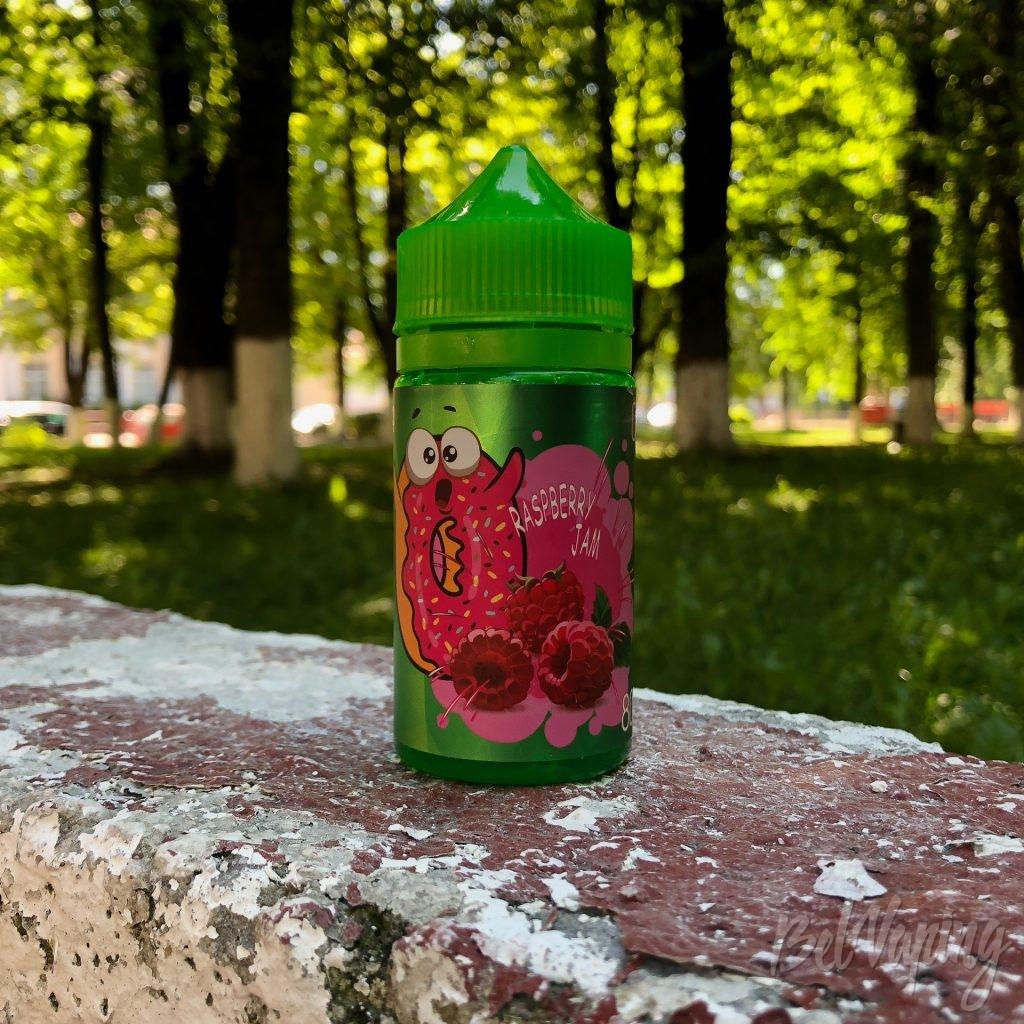 Жидкость Donuts - Raspberry Jam от Glitch Sauce
