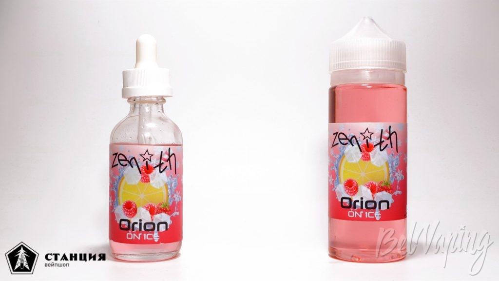 Жидкости ZENITH ON ICE - вкус ORION