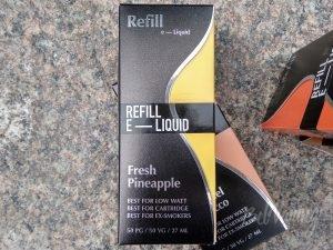 Коробка жидкости Refill