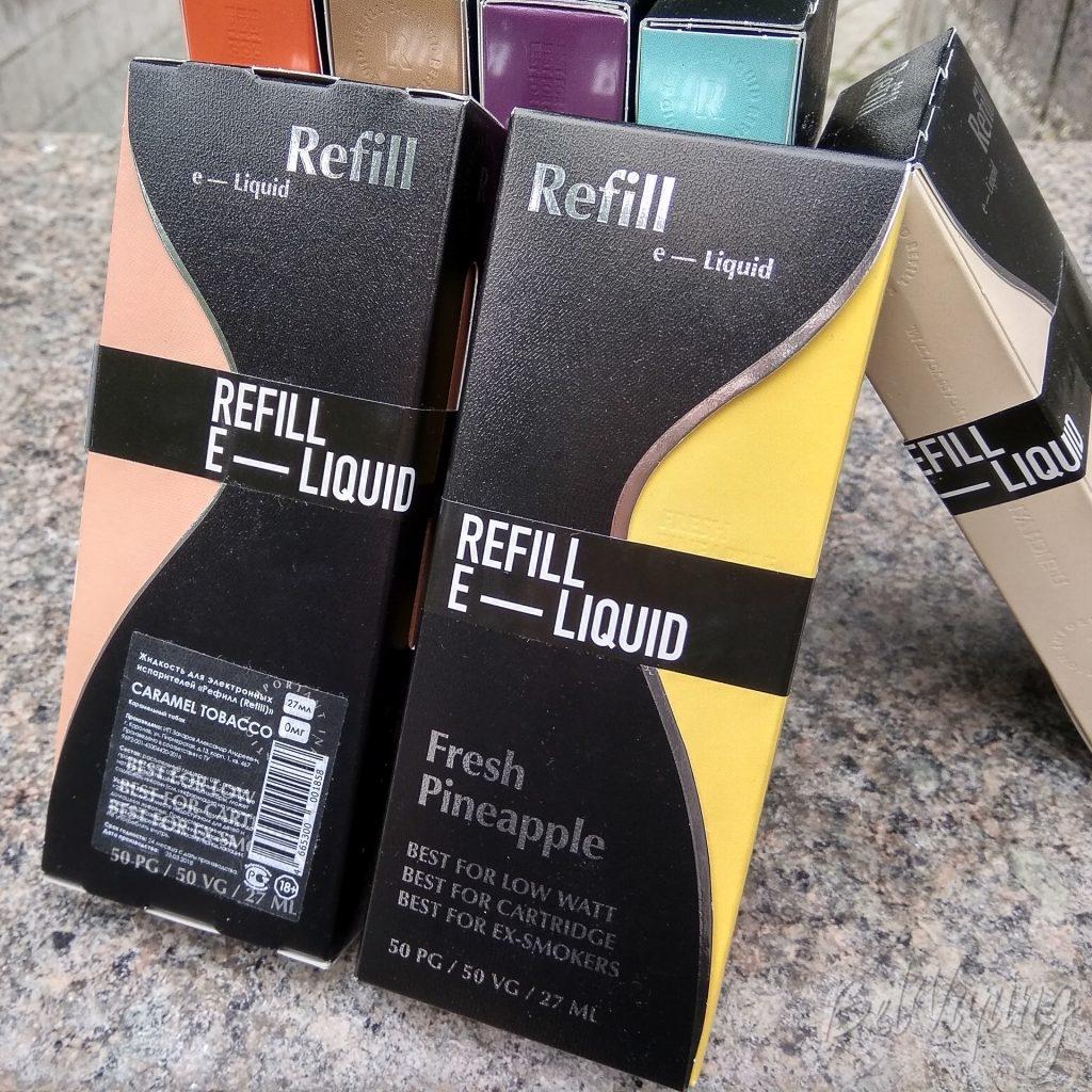 Линейка жидкости Refill