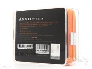 Упаковка Ammit MTL RDA от Geekvape