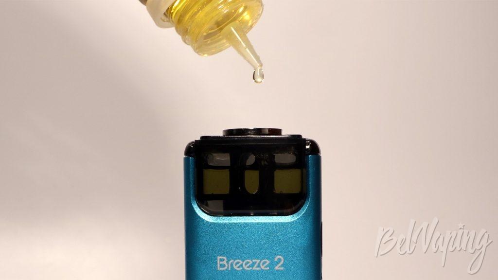 Aspire BREEZE 2 - альтернативная заправка