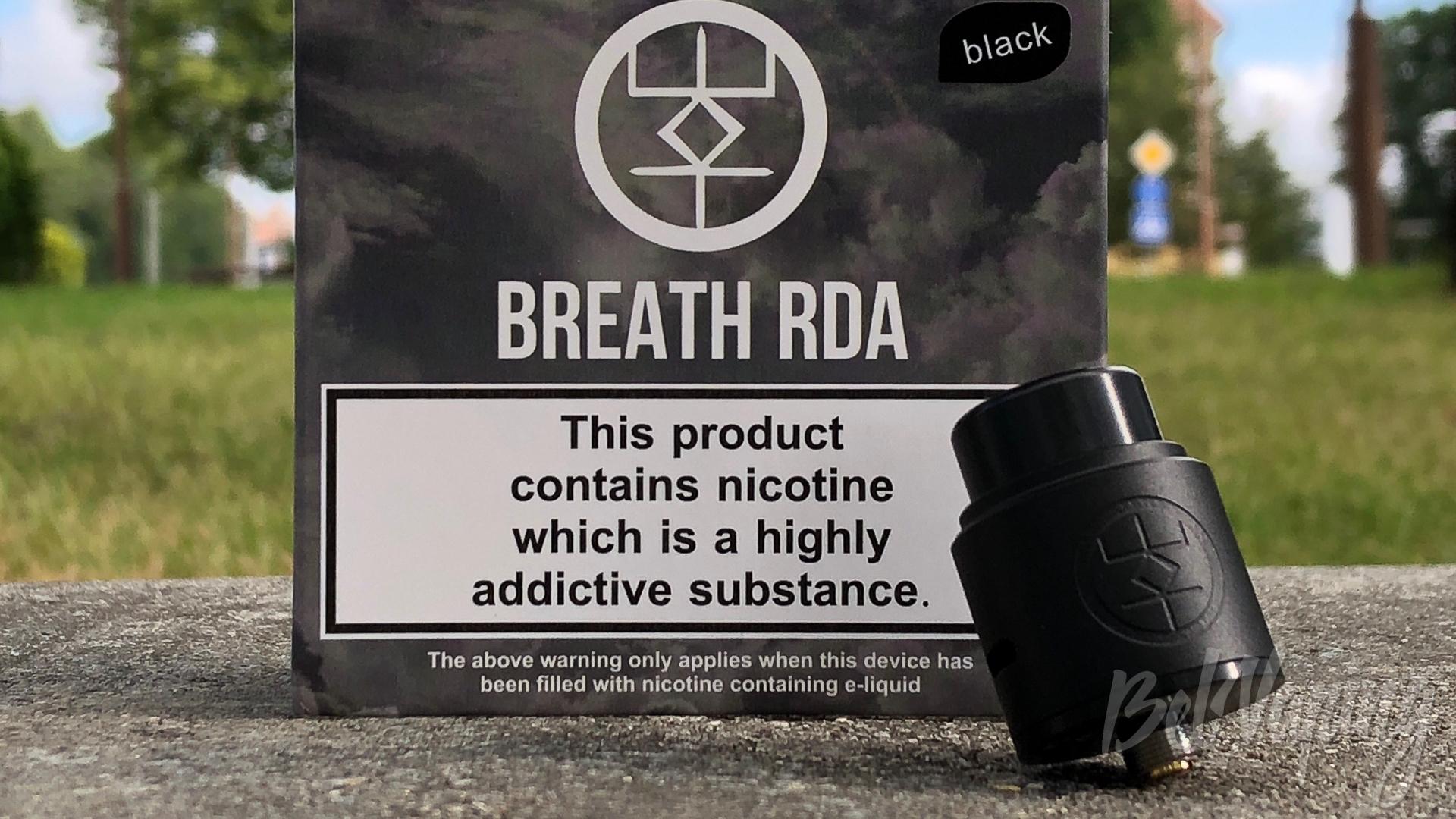 Обзор дрипки Breath RDA от Advken