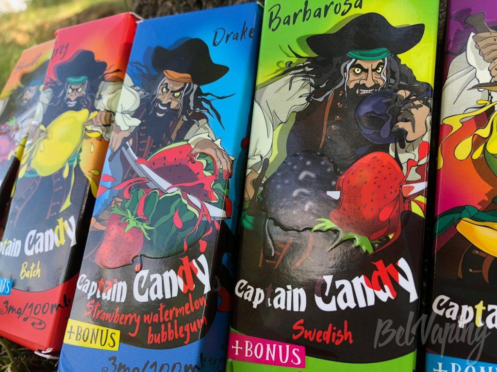 Жидкости Captain Candy