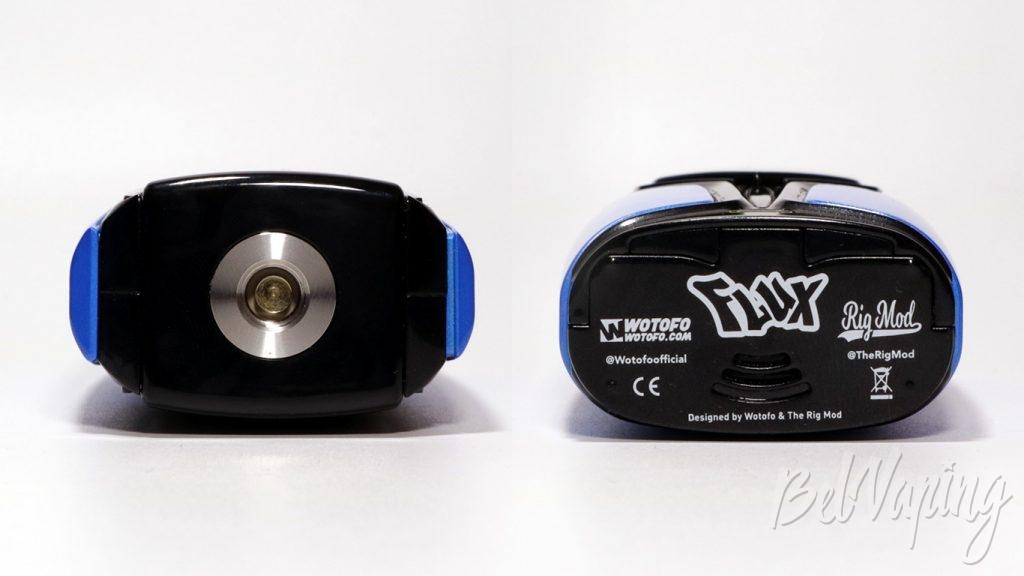 FLUX mod - крышка и коннектор