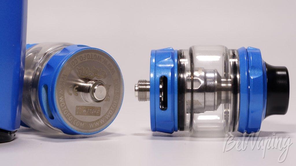 FLOW PRO subtank - вид снизу и коннектор