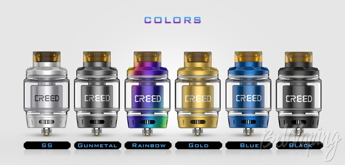Цвета Geekvape Creed RTA