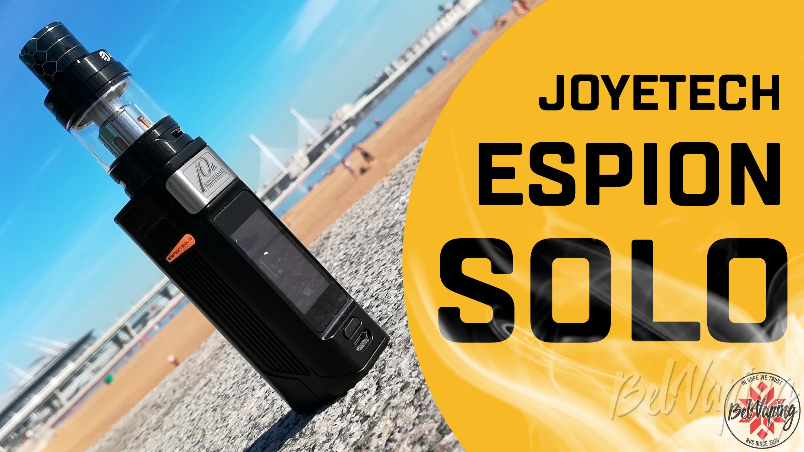 Видеообзор Joyetech Espion Solo Kit