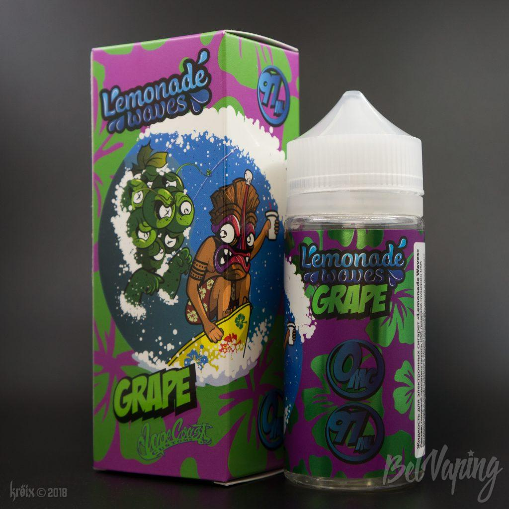 Жидкость Lemonade Waves Grape