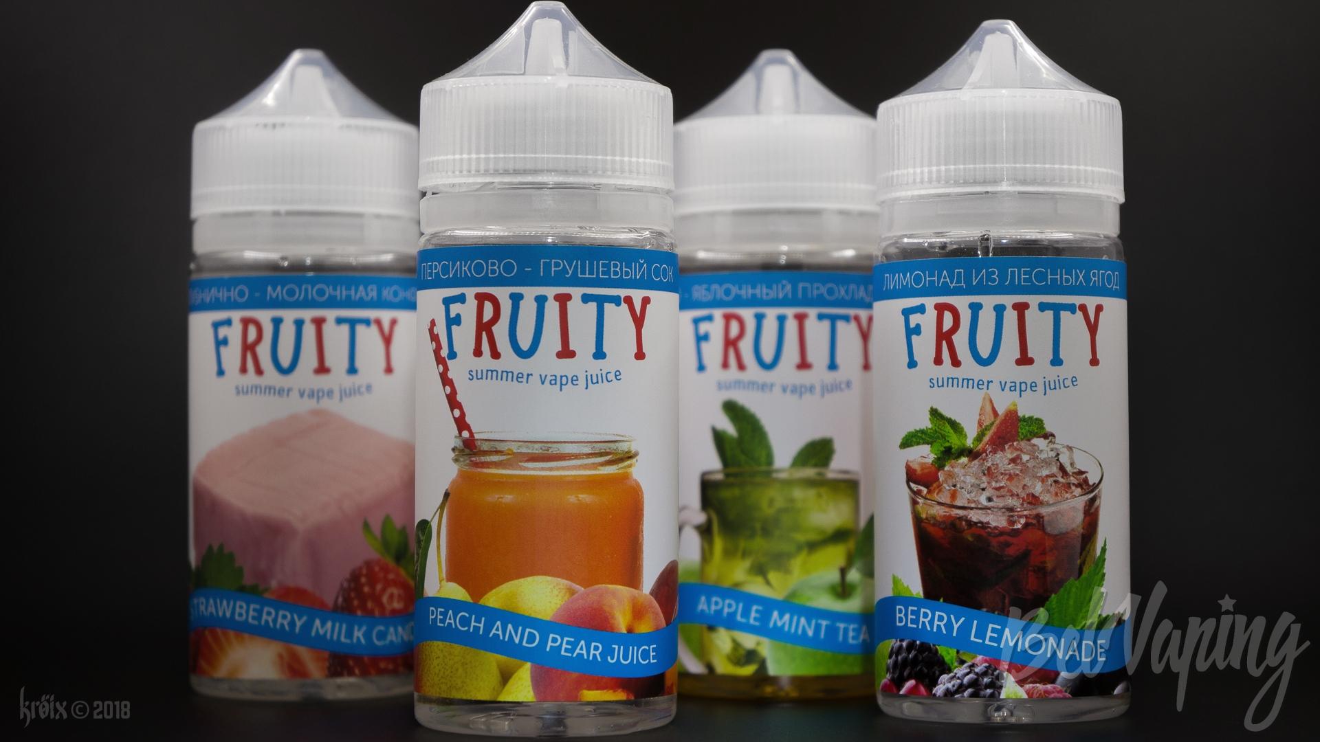 Обзор жидкости Fruity