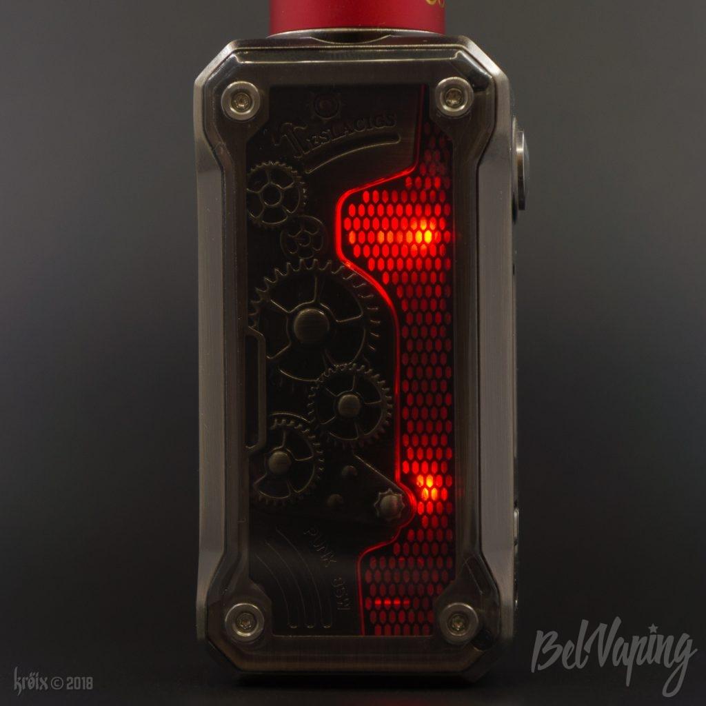Подсветка в Tesla Punk 85W