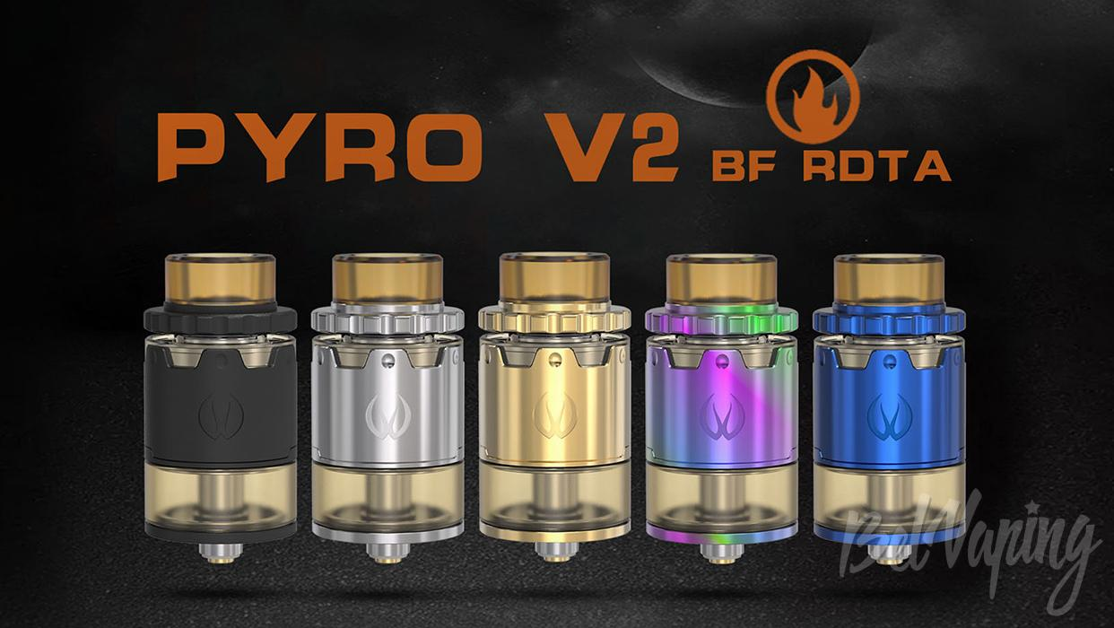 Внешний вид Vandy Vape Pyro V2 BF RDTA