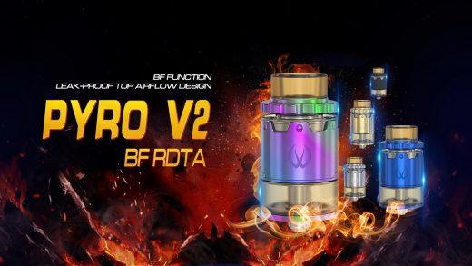 Vandy Vape Pyro V2 BF RDTA. Первый взгляд