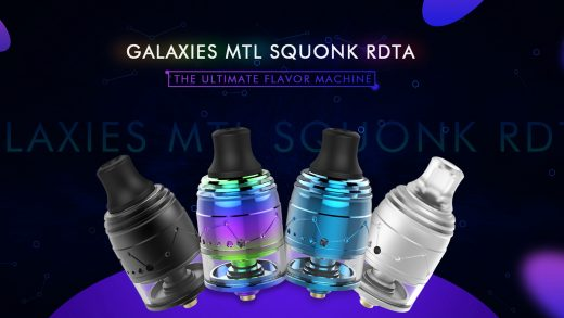 Vapefly Galaxies MTL RDTA. Первый взгляд