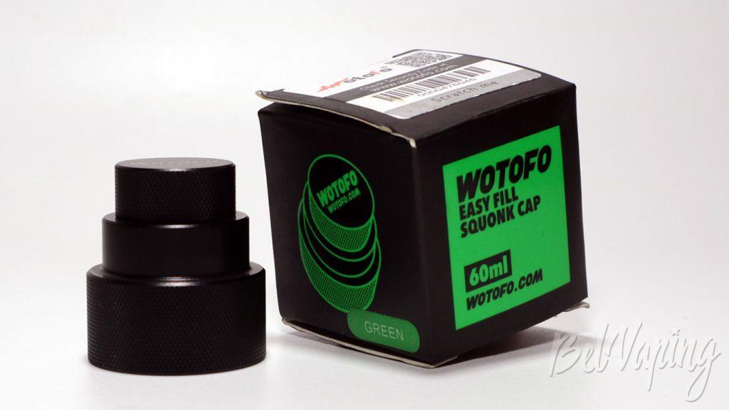 Обзор Wotofo Easy Refil Squonk Cap