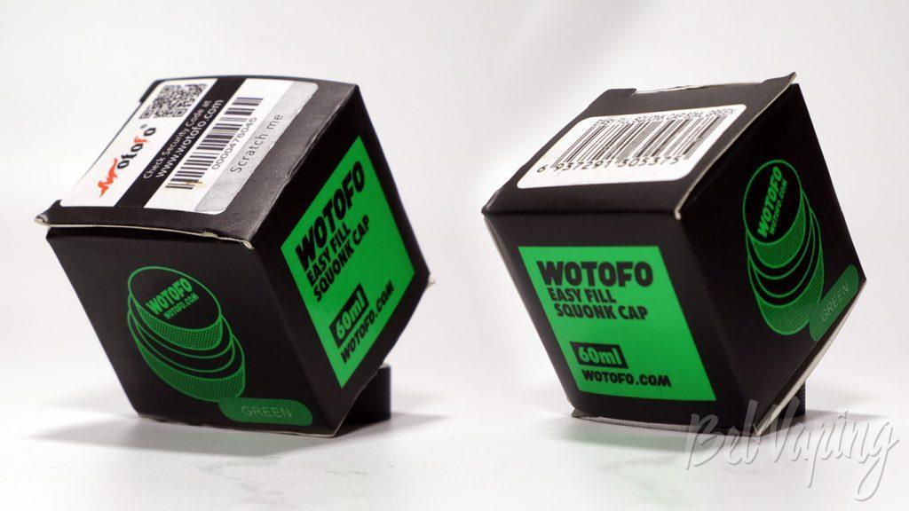 Wotofo Easy Refil Squonk Cap - упаковка