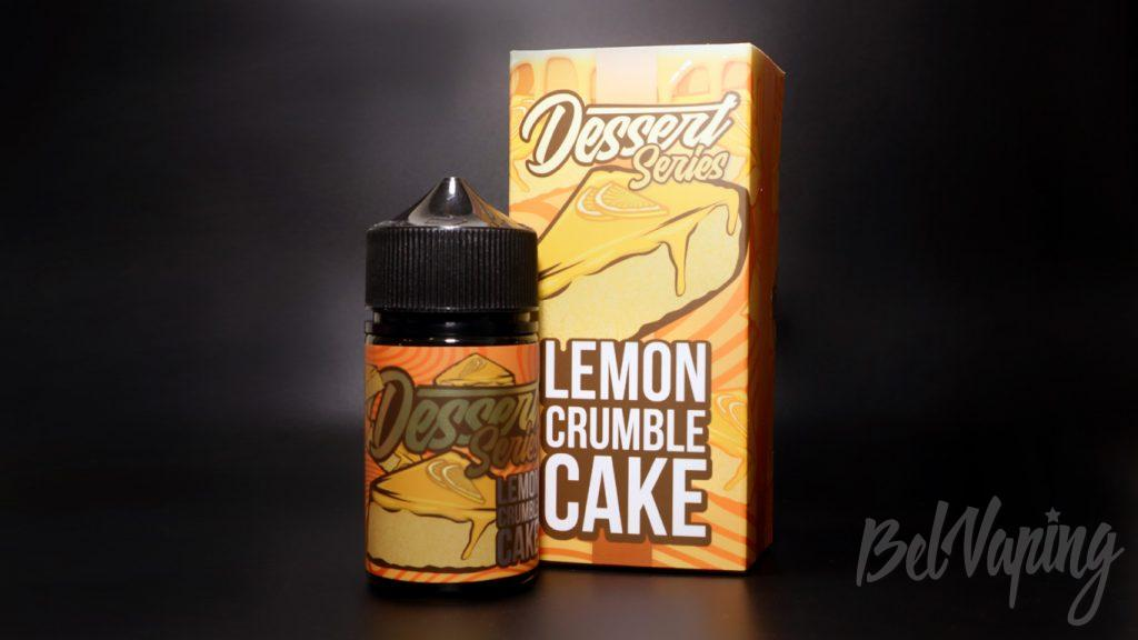 Жидкости Bill's e-liquid - вкус Desert series / LEMON CRUMBLE CAKE