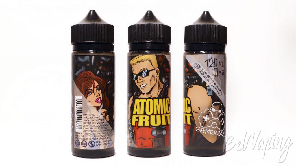 Жидкости GAMERZZZ - вкус ATOMIC FRUIT