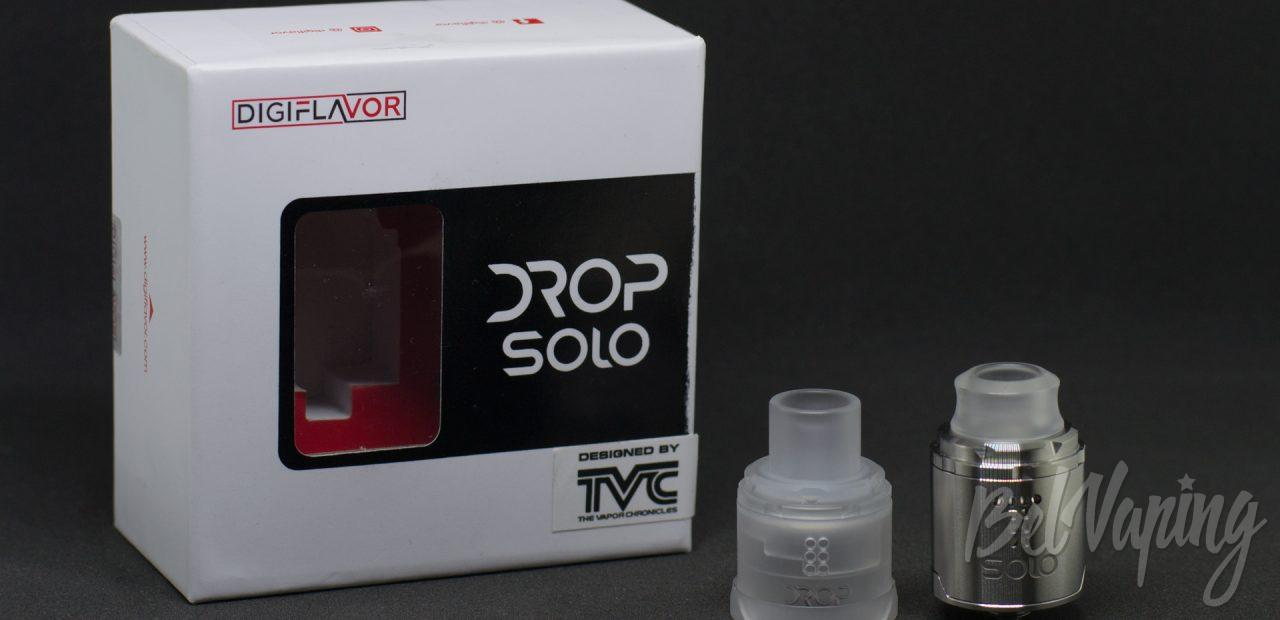 Обзор Drop Solo RDA от компании Digiflavor