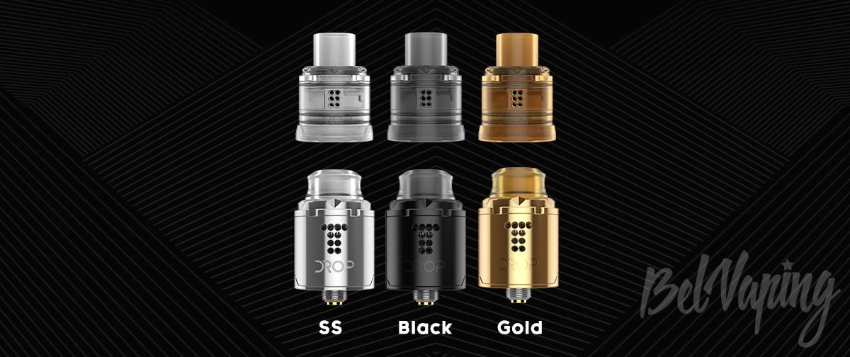 Цвета Digiflavor Drop Solo RDA