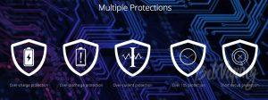 Виды защиты в Eleaf iWu Pod