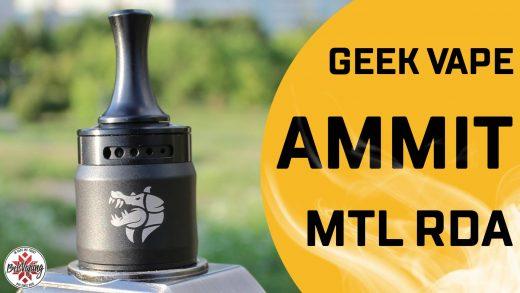 Обзор Geekvape Ammit MTL RDA