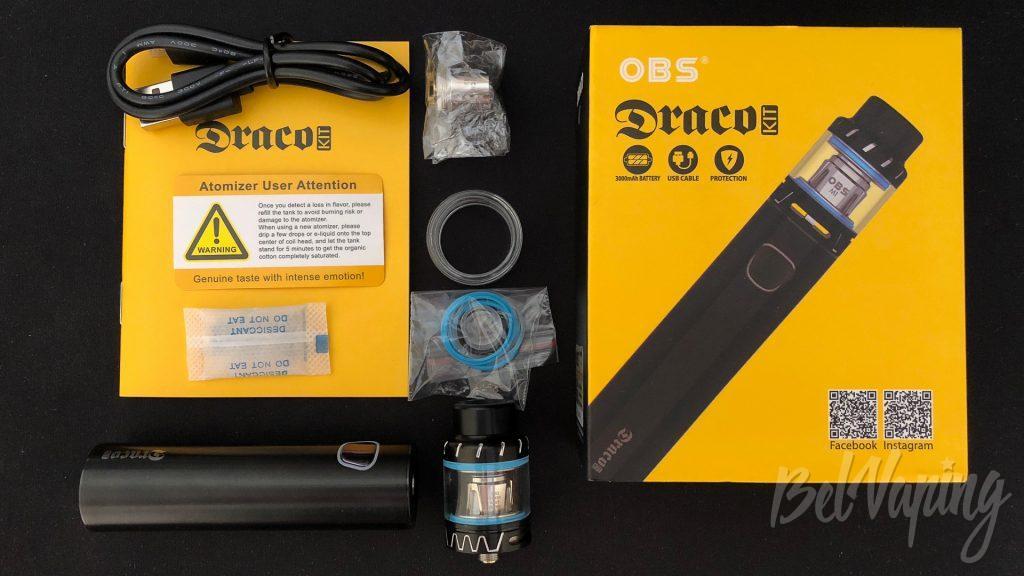 Комплект набора OBS Draco Kit