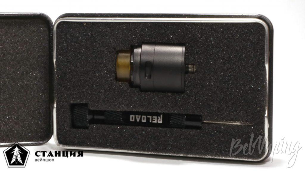 RELOAD X RDA от Reload Vapor USA - комплект поставки