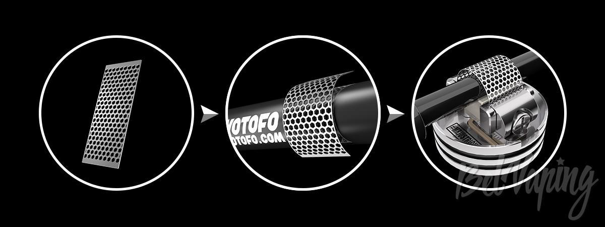 Инструмент для сетки Wotofo Profile RDA