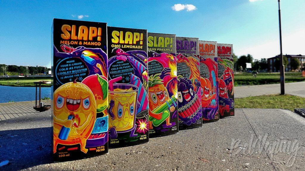 Линейка жидкости Slap!
