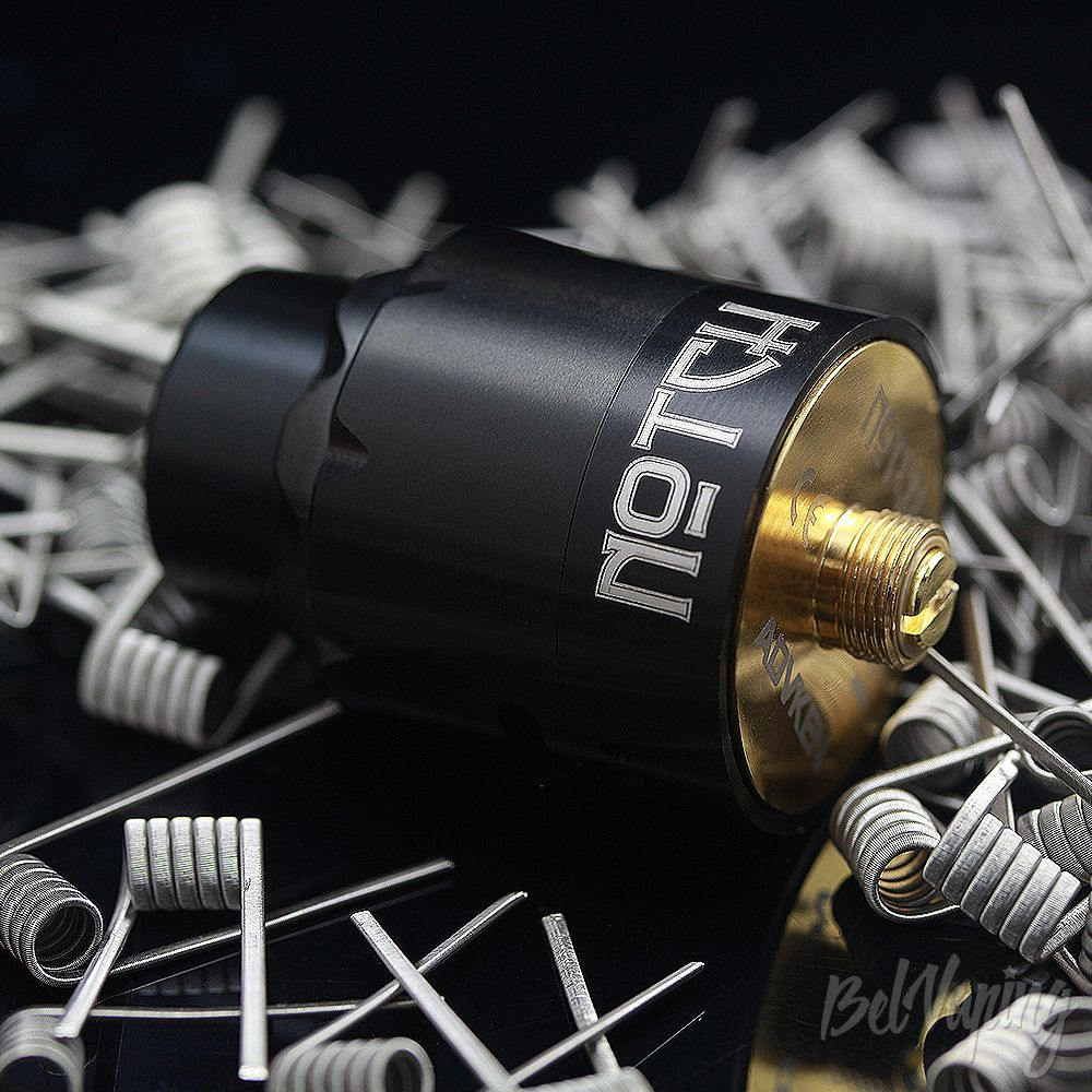 Внешний вид ADVKEN Notch Coil RDA