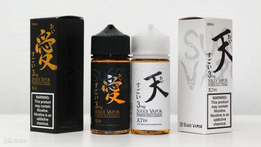 Обзор жидкости Ai и Ten от Sugoi Vapor