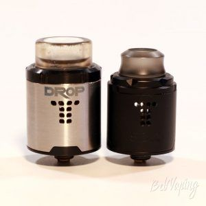 Digiflavor DROP SOLO RDA - сравнение с DROP RDA
