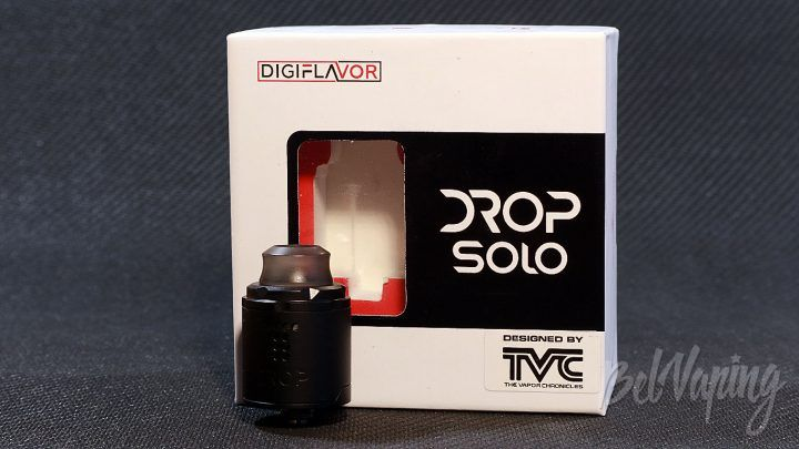 Обзор Digiflavor DROP SOLO RDA
