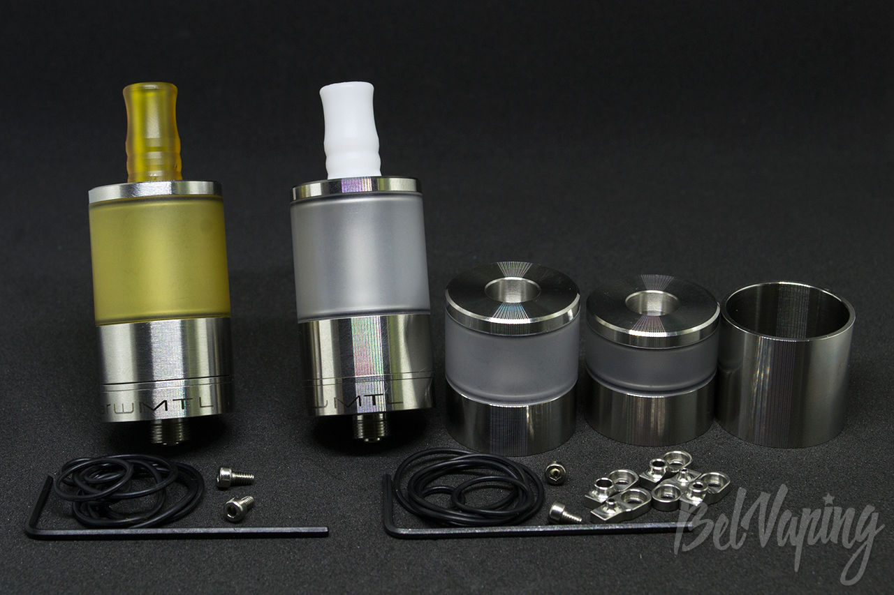 Комплектация Dvarw MTL RTA от Coppervape и Lysen