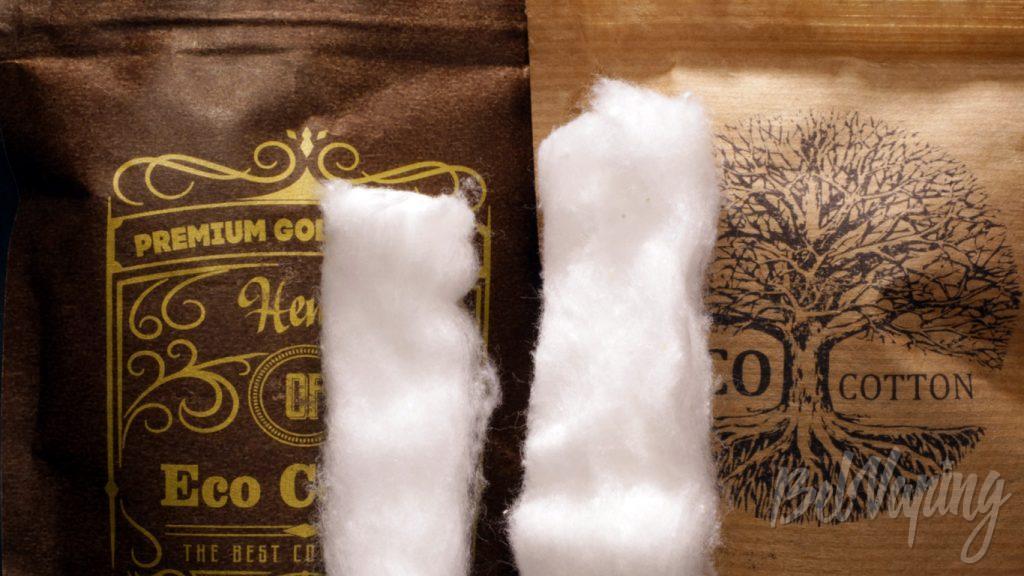 Eco Cotton и Hemp Eco Cotton - сравнение внешнего вида