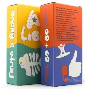 Упаковка жидкости La Liga Vape