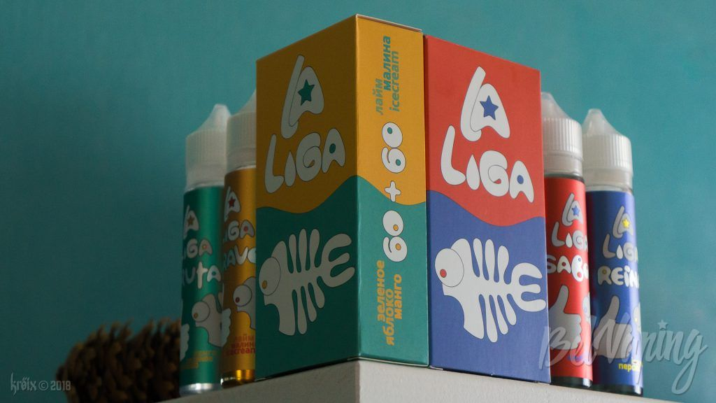 Жидкости La Liga Vape