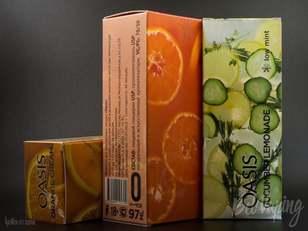 Упаковка жидкости OASIS
