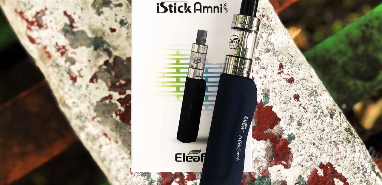 Обзор набора Eleaf iStick Amnis с баком GS Drive